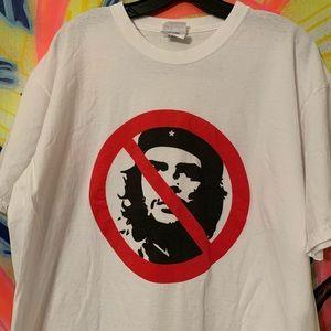 Vintage Dissident Anti-Che Guevara Tee Sz XL